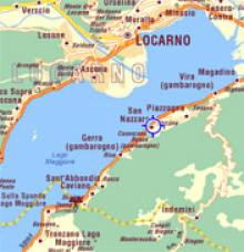 From Tenero Contra to the Gambarogno Riviera
