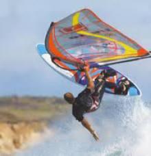 Windsurf e divertimento vicino a Maccagno