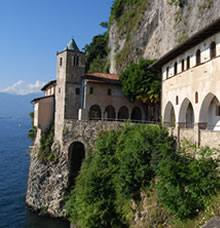 Santa Caterina del Sasso Hermitage
